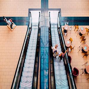 Franquicias en centros comerciales