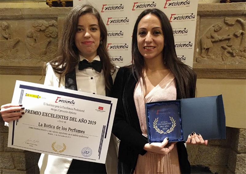 premio La Botica de los Perfumes