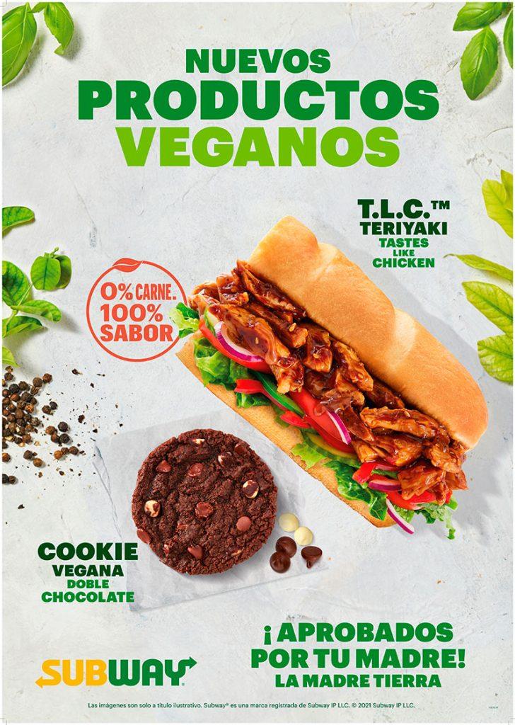 Nueva gama vegana franquicia Subway