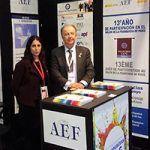 La AEF acude al Salón de la Franquicia de París con 10 enseñas nacionales