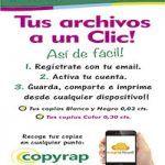 La franquicia Copyrap presenta Copicloud, un servicio de impresión online en 17 segundos