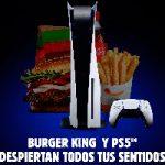 Alianza entre la franquicia Burger King España y Playstation