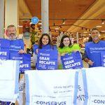 La franquicia Caprabo inicia la Gran Recogida de alimentos online