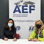 La AEF y la AMMDE firman un acuerdo para alzar a la mujer empresaria