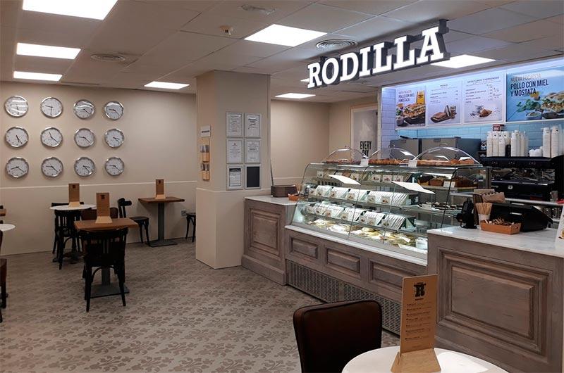 Restaurante de la franquicia Rodilla