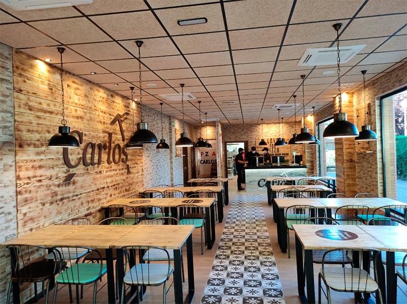 Nuevo restaurante de la franquicia Pizzerías Carlos